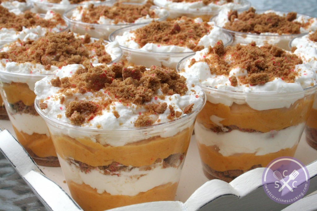 Chocolate Cake Pumpkin Trifle