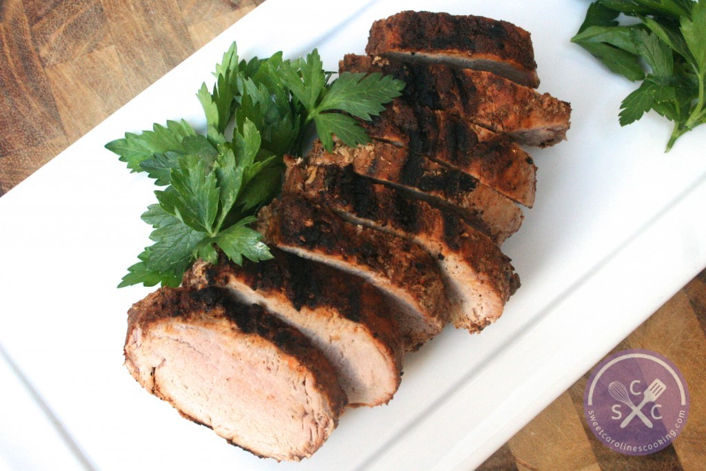 ... chile & brown sugar-rubbed pork tenderloin] - sweet caroline's co...