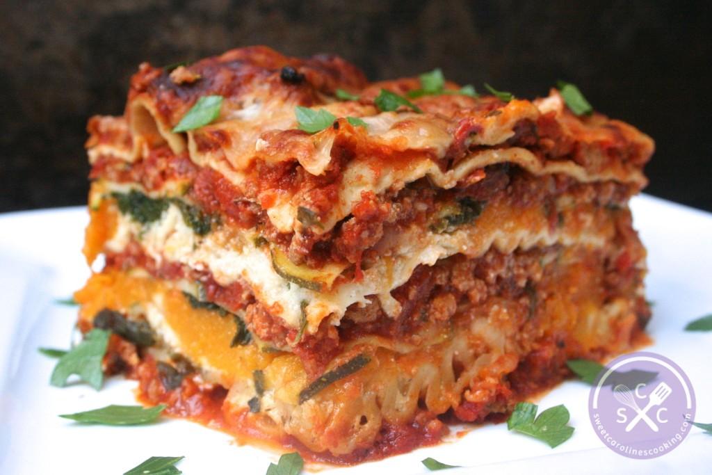 Stack It Up Ground Turkey Lasagna W Butternut Squash